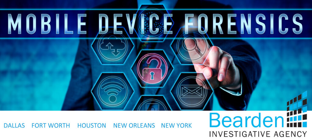 mobile forensics, cell phone data extraction